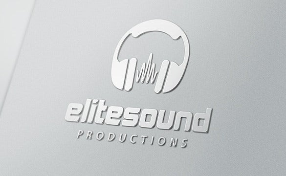 elite sound logo dj template free download