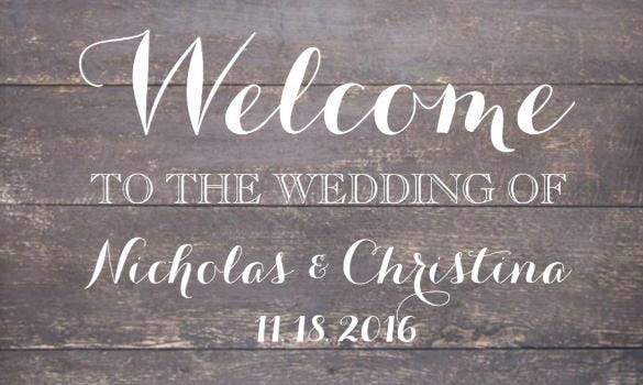 editable welcome banner template