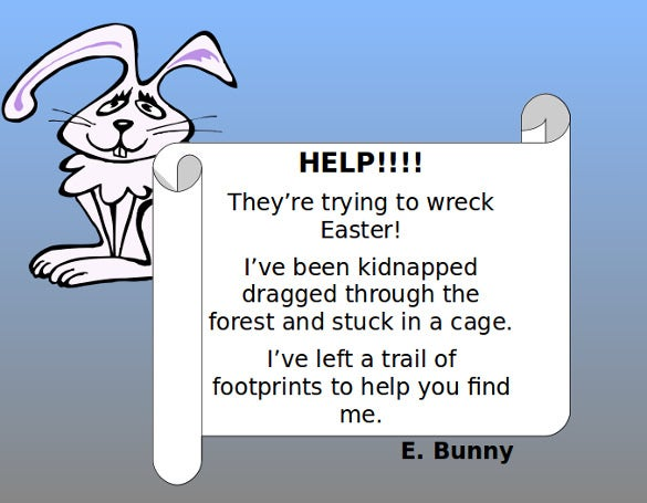 easter challenge ppt free download