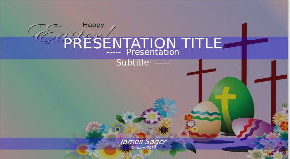 easter powerpoint free ppt by sagefox