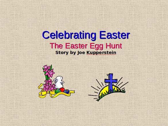 Charming Celebrations Easter Powerpoint Download