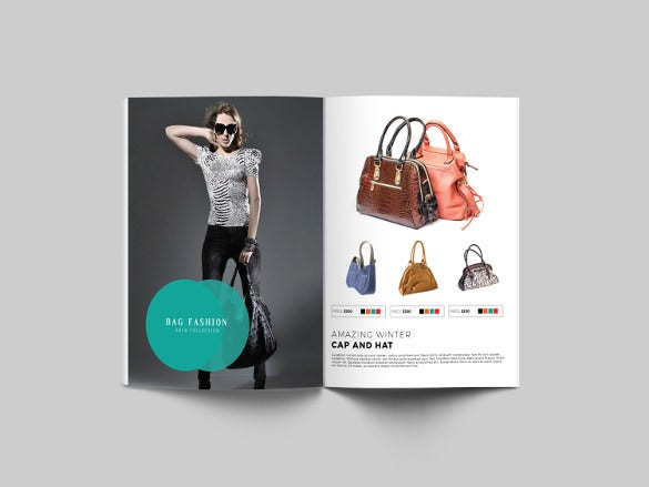 Fashion Brochure Template 54 Free Psd Eps Ai