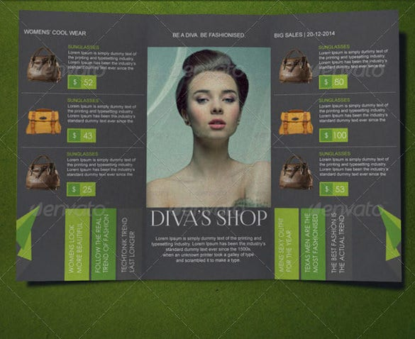fashion brochure templates  u2013 52  free psd  eps  ai