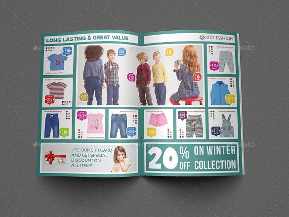 Fashion Brochure Templates   Free Psd Eps Ai Indesign Format