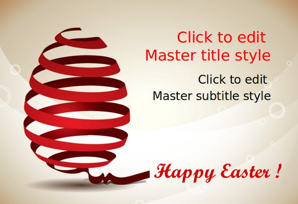 Superb Happy Easter PowerPoint Sample Template Free Download