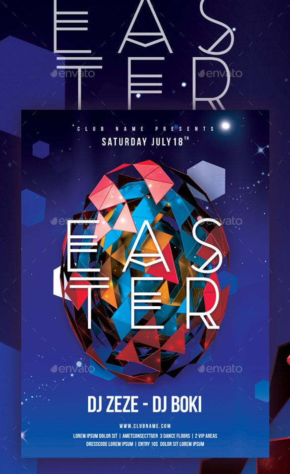 easter poster template download