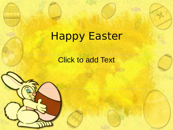 powerpoint format easter template free download 1