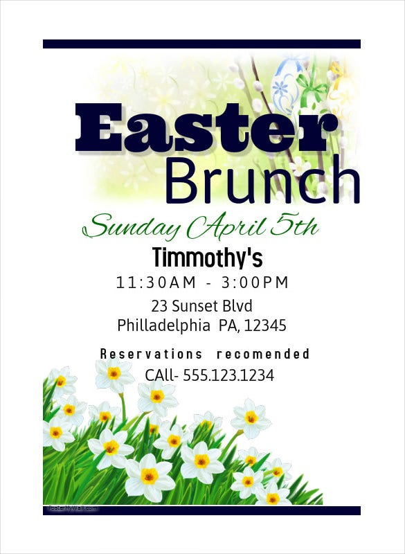 easter brunch poster download 99