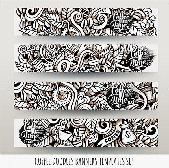 coffee design banner template