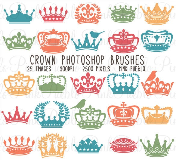crown photoshop brushes easy download