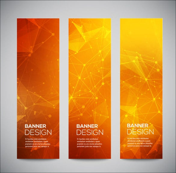 creative banner design template