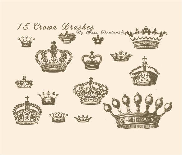 set of 15 crown brushes set