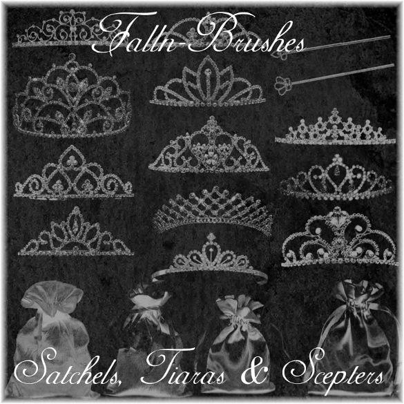 princess crown brushes set free download