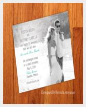 Attractive Wedding Announcement Template