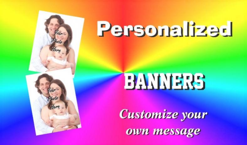 rainbow design banner template 788x463