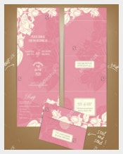 Print Ready Wedding Brochure Templates