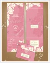 Print Ready Wedding Brochure Templates