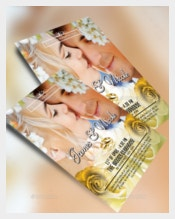 Romantic Wedding Flyer Template