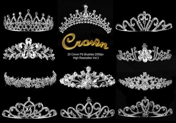 20 attractive crown brushes free download