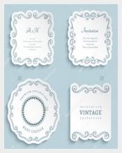 Vector Wedding label Templates