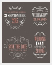 Wedding Label Design For Downloads