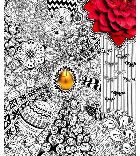 the golden egg print easter drawings