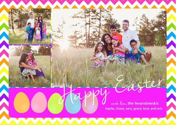 digital easter card template