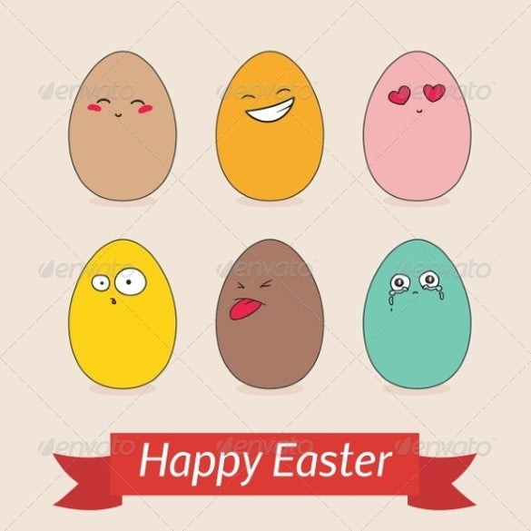 Easter Card Template   Free Printable Pdf Jpg Psd Eps Format