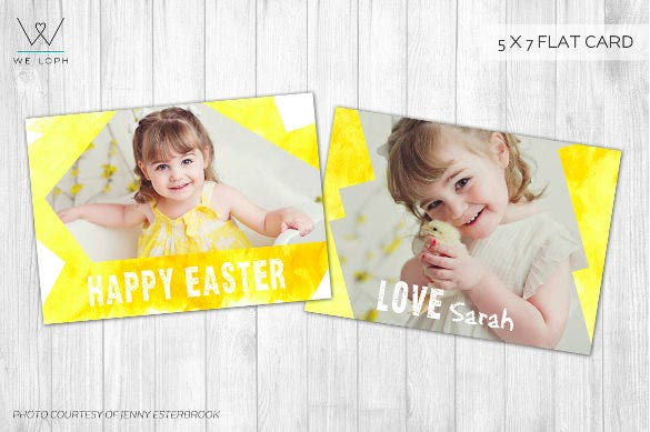perfect easter card template