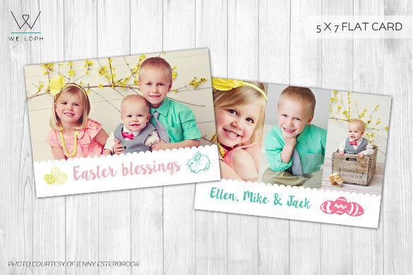 Easter Card Template - 29+ Free Printable Pdf, Jpg, Psd, Eps