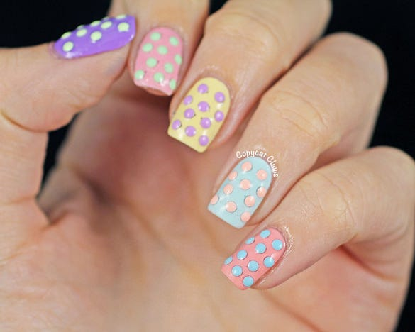 easy easter nail designs