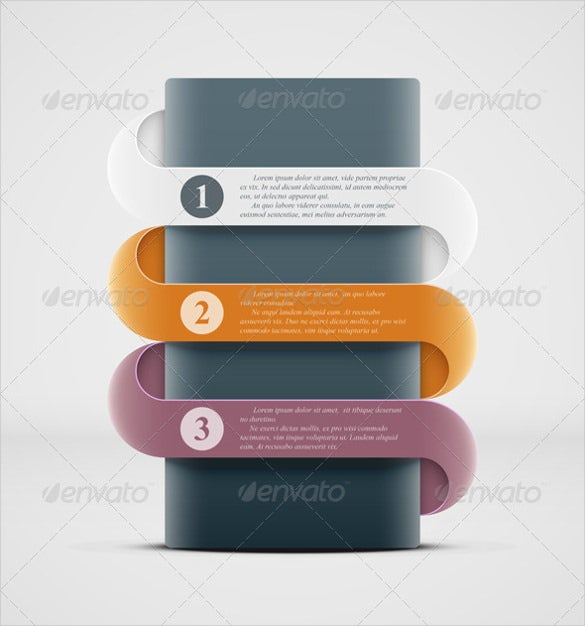 infographics step and repeat banner template