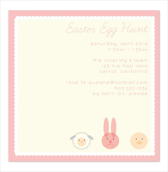easter invitation download 2