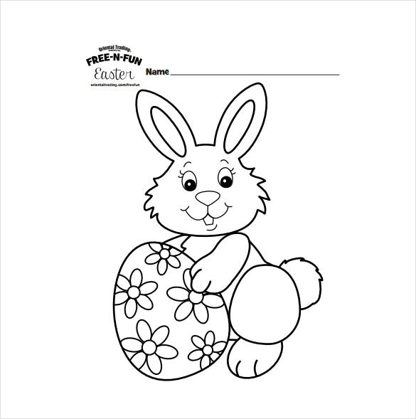 16 easter colouring pages free sample example format download