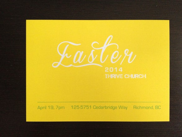 easter invitation card download