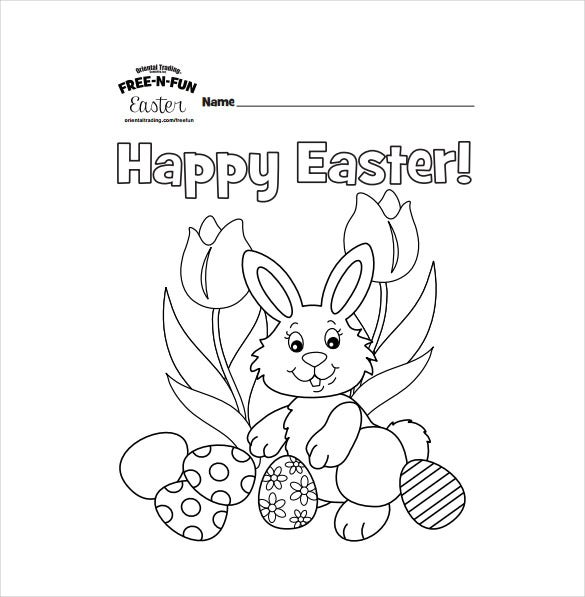 Free Easter Coloring Book Download : 16 easter colouring pages u2013 free sample example format download