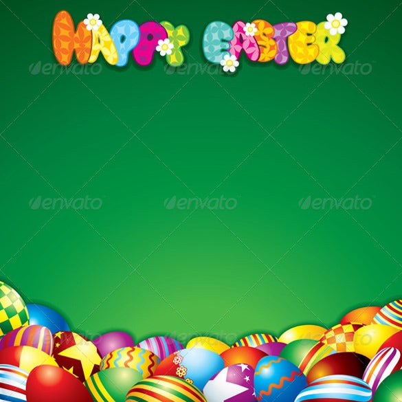 simple gradients easter background template