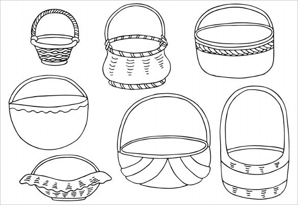 decorate the easter basketsfree download