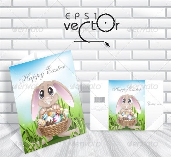 happy easter background template