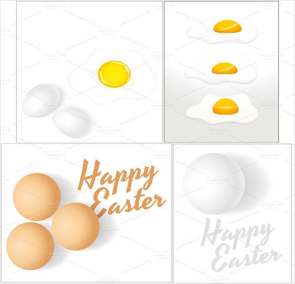happy easter eggs beautiful background