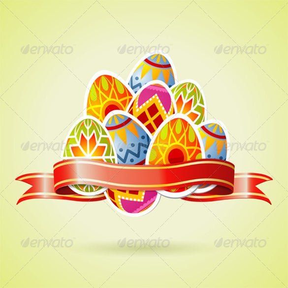 easter background vector template