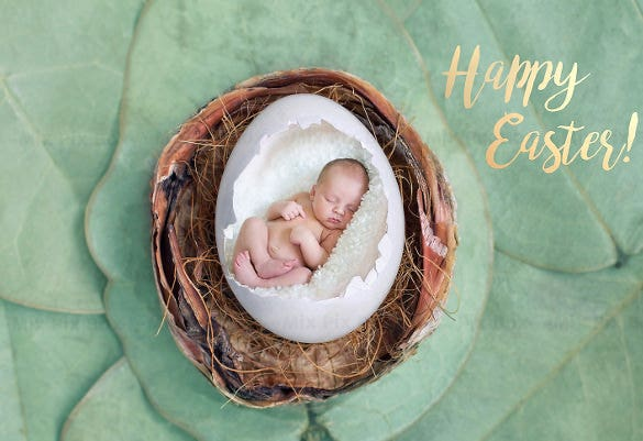 digital backdrop easter egg template