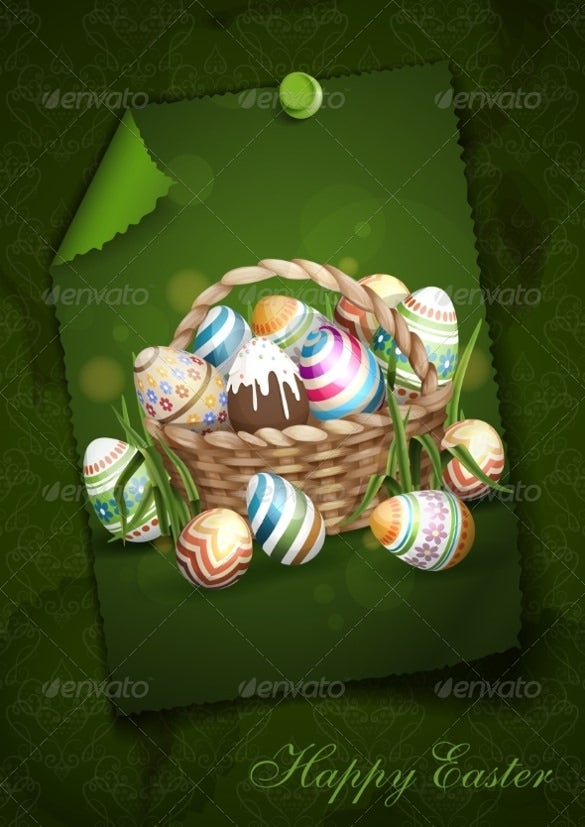 design easter background template