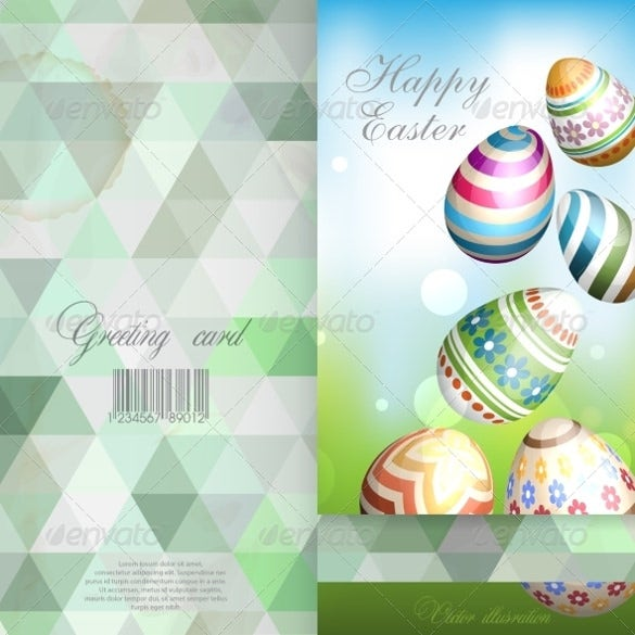 perfect easter background template