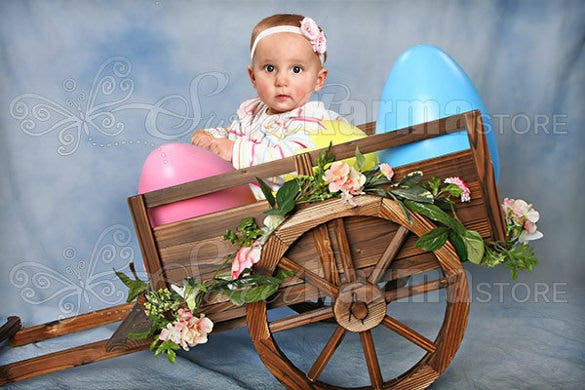 editable digital psd layered easter background template