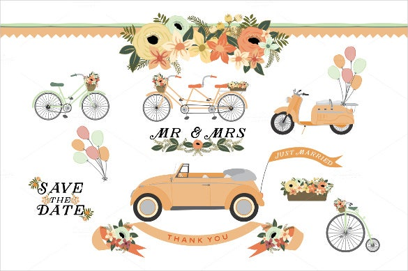 vintage wedding banner template