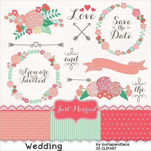flowers wedding banner template