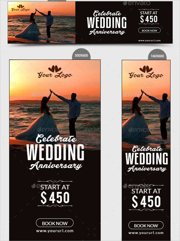 adroll wedding banner template