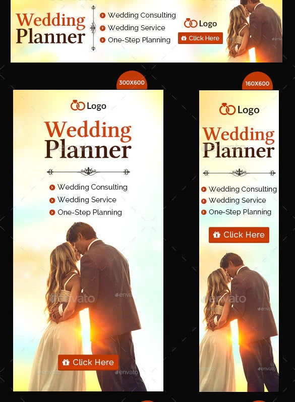 wedding planning banner template