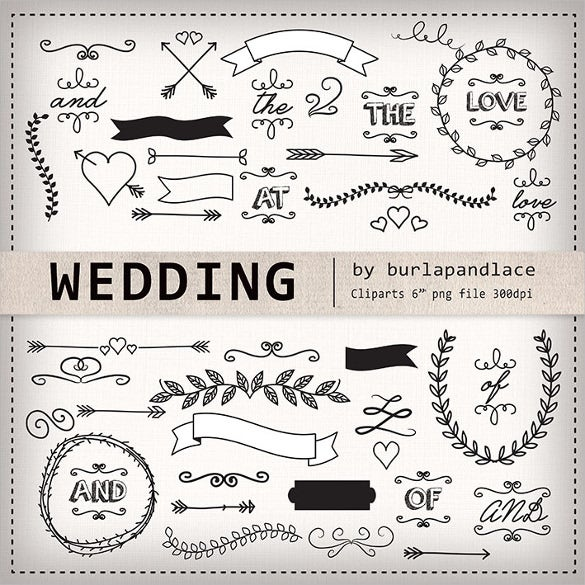 arrow wedding banner template